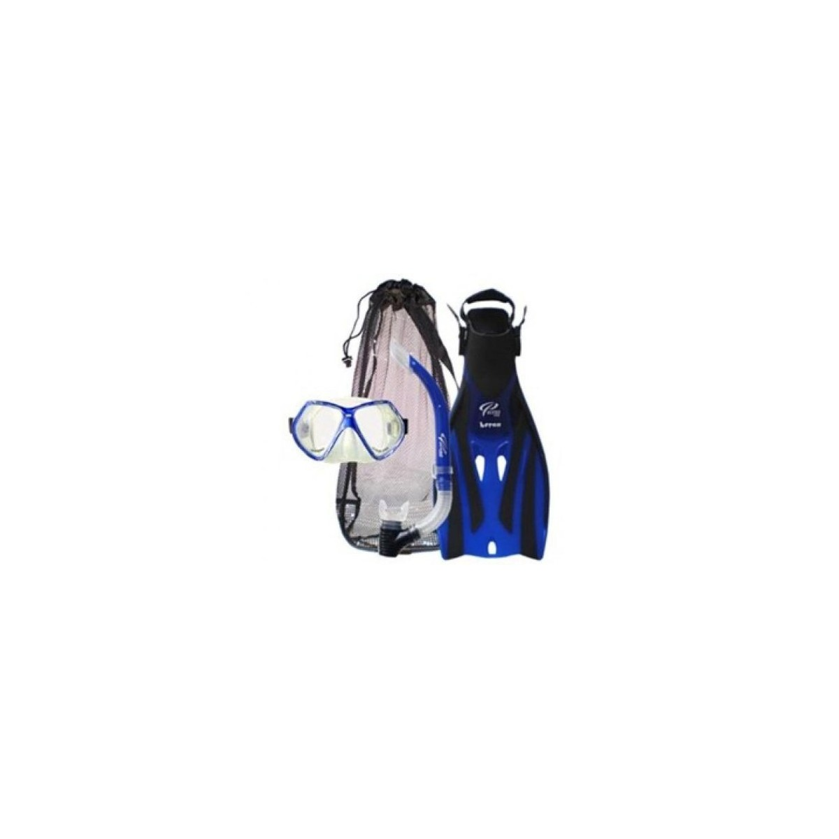 Ocean Pro Adult Bat Mask, Snorkel and Fin Set