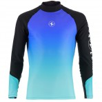 Aqua Lung Gradient Rashguard Long Sleeve Men