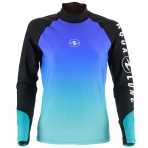 Aqua Lung Gradient Rashguard Long Sleeve Womens