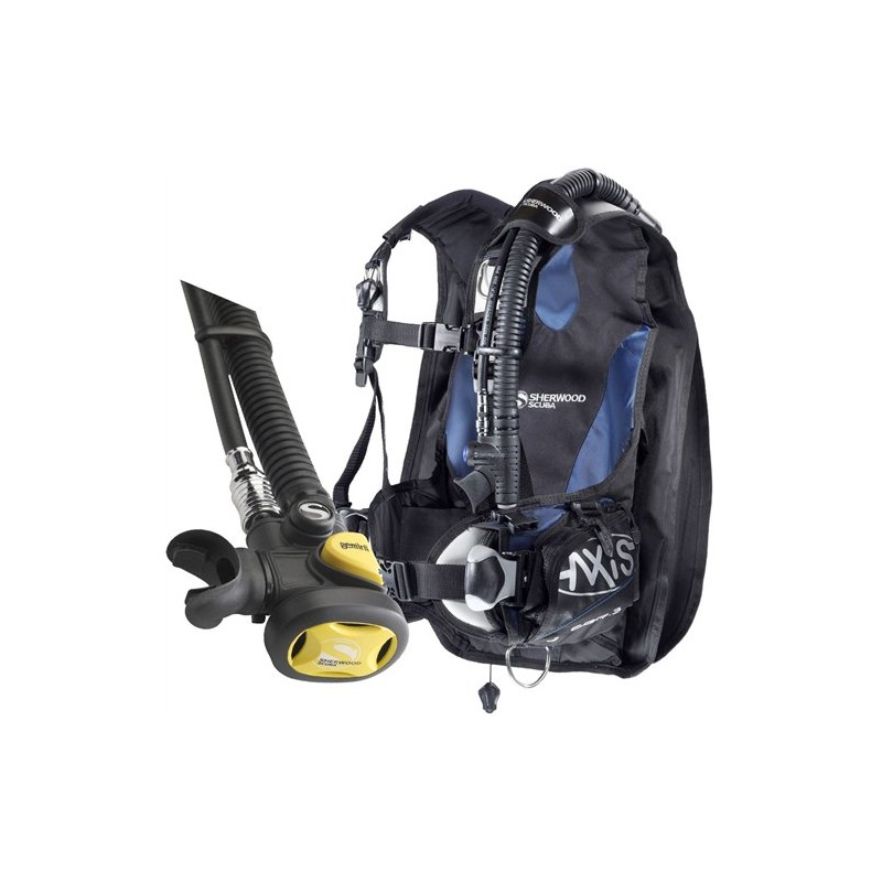 Sherwood Axis BC//BCD Buoyancy Compensator CQR3 Weight Integrated