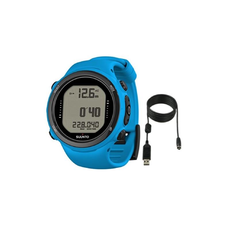 Suunto D4I Novo Dive Watch With USB PC Download Kit