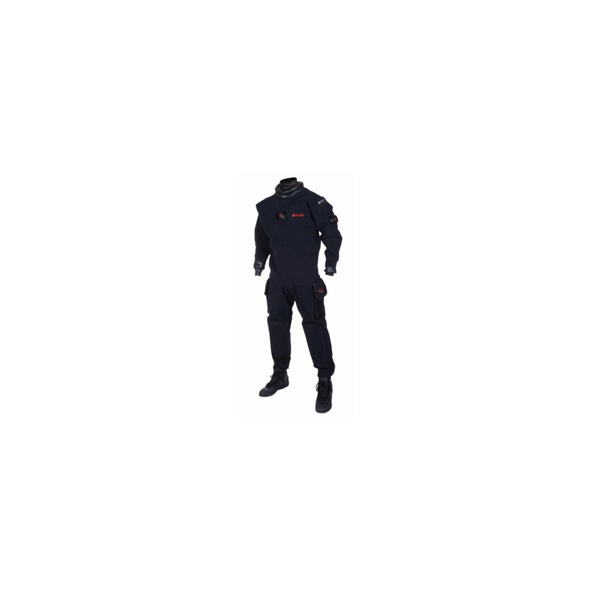 New Hollis BX200 Back Zip BioDry Drysuit (Size 2X-Large Tall) with FREE Ocean Pro 5.0mm NeoClassic Overboots