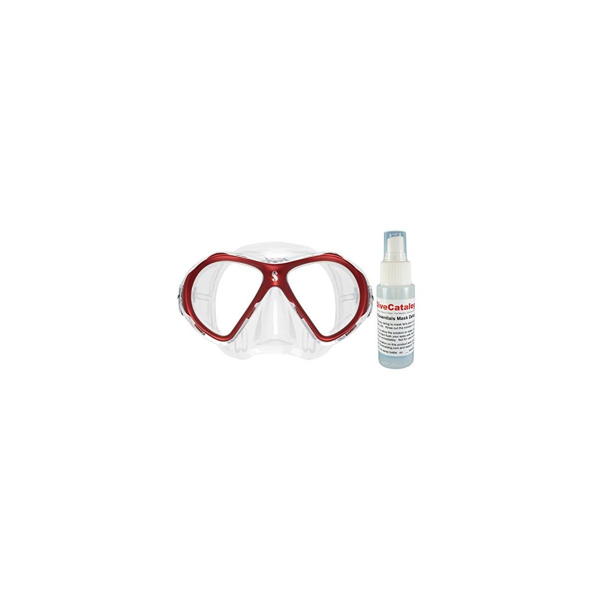 Scubapro Spectra Mini Dive Mask w/ 2oz Defog Spray