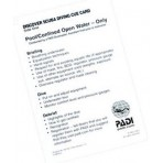 PADI Discover Scuba Diving Cue Card - 60130