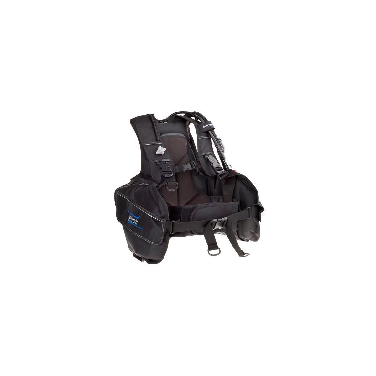 Scubapro Pilot Jacket Style Scuba Diving BCD W/ Balanced Inflator