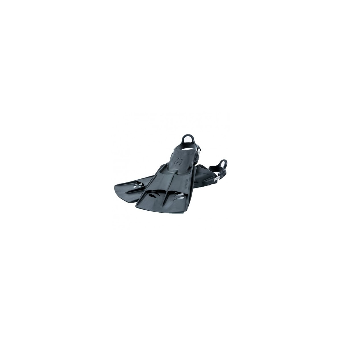Hollis F2 Vented Blade Open Heel Lightweight Travel Diving Fin