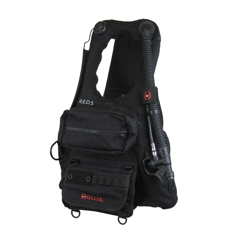 New Hollis Rapid Emergency Deployment System (REDS) BCD For Scuba Diving, Kayaking, Boating & Other Water Sports