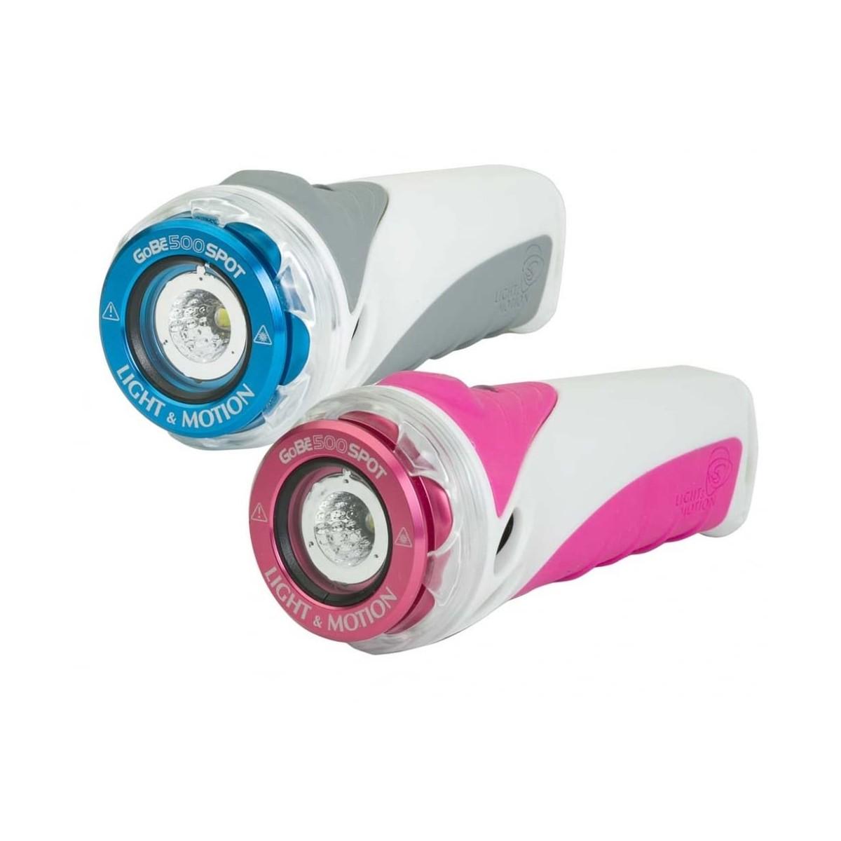 Light & Motion GoBe S 500 Spot Light, White/Blue