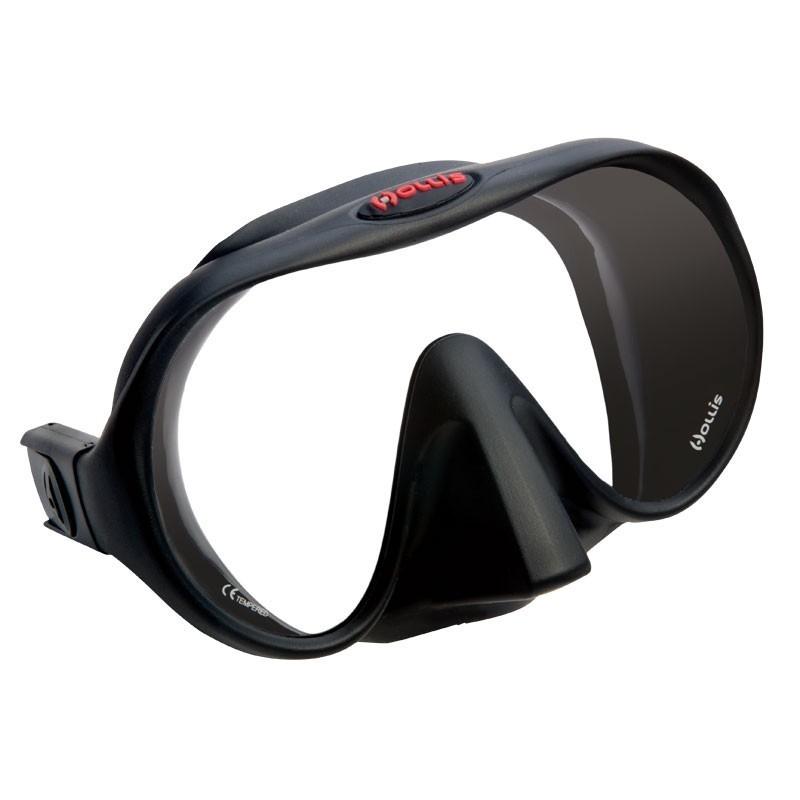 Hollis M1 Mask, M-1 Tech Rec Cave Diving Freediving Frameless Mask