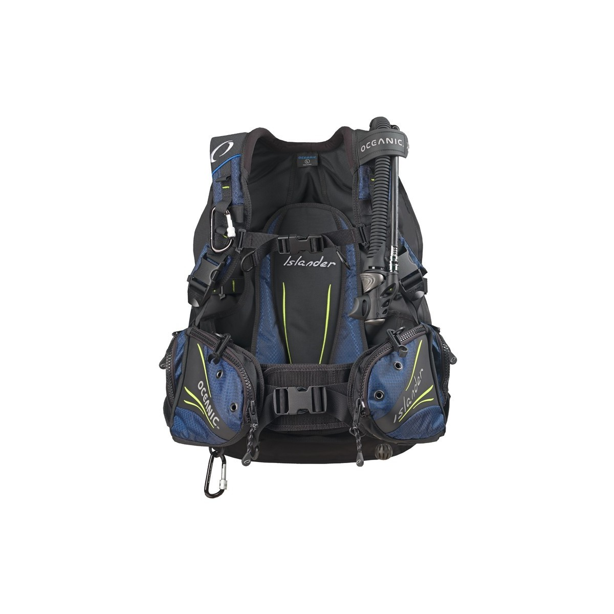 Oceanic Islander 2 Rear Inflation Travel Buoyancy Compensator BCD
