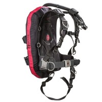 Hollis HTS 2 Harness Technical System Back Inflation BCD Without Optional Pocket