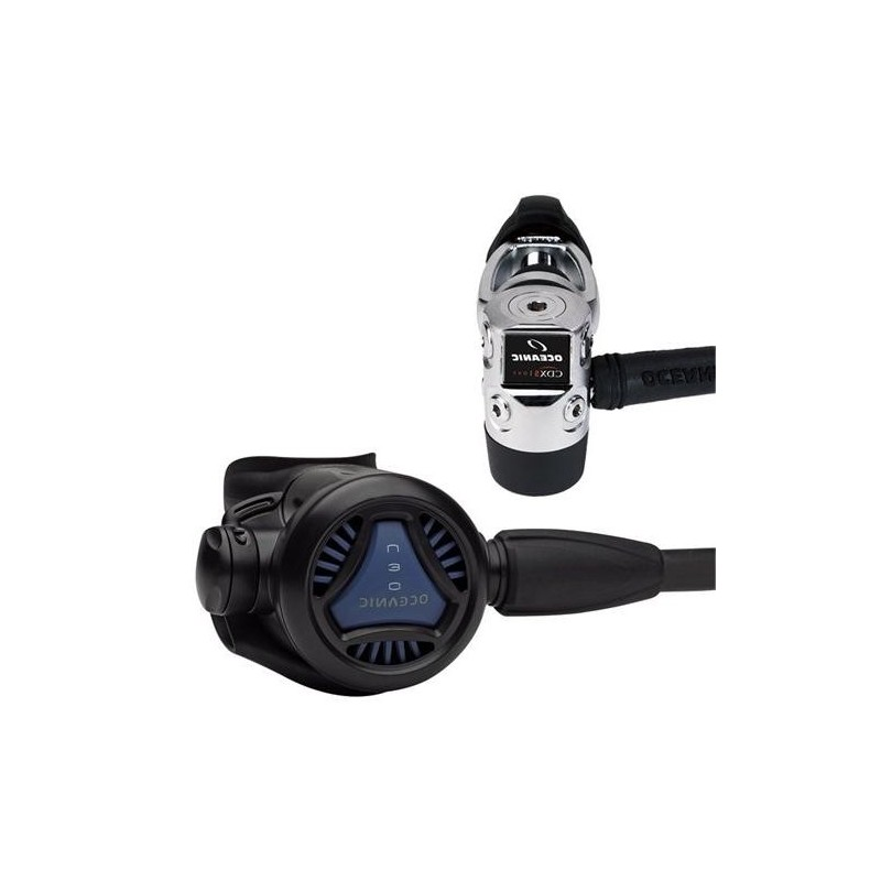 New Oceanic Neo CDX5 DVT Scuba Diving Regulator with MaxFlex Hose - Yoke