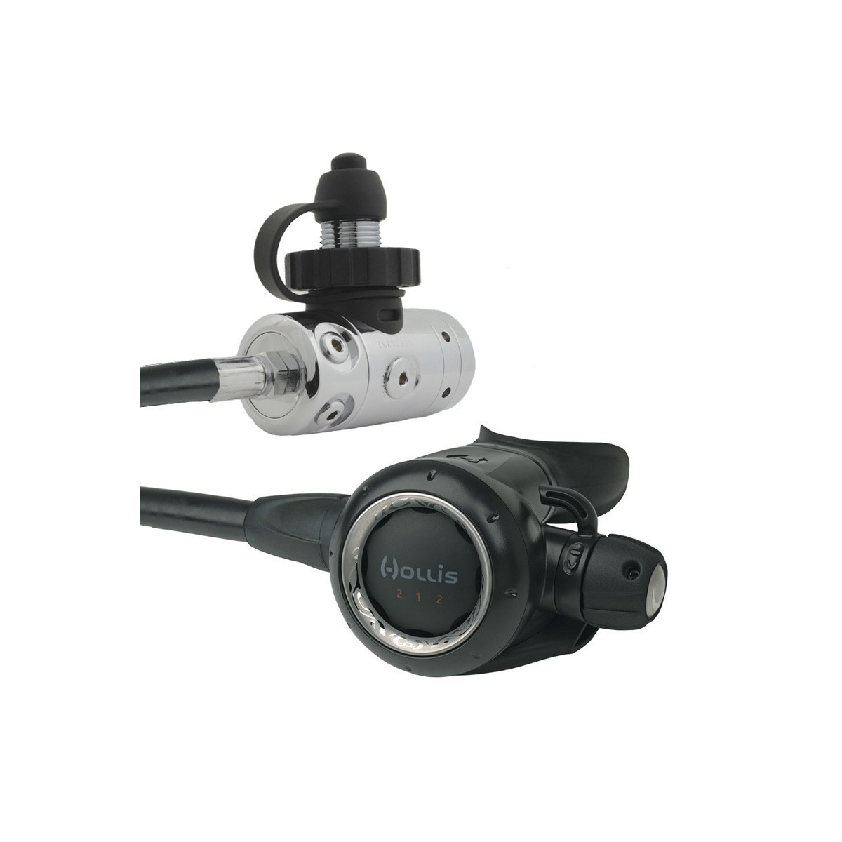 Hollis 212- DC1 DIN Technical Scuba Diving Regulator