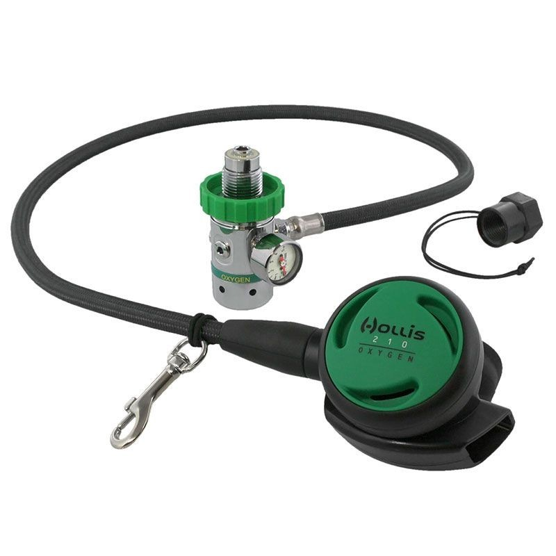 Hollis Oxygen O2 Regulator With Brass SPG