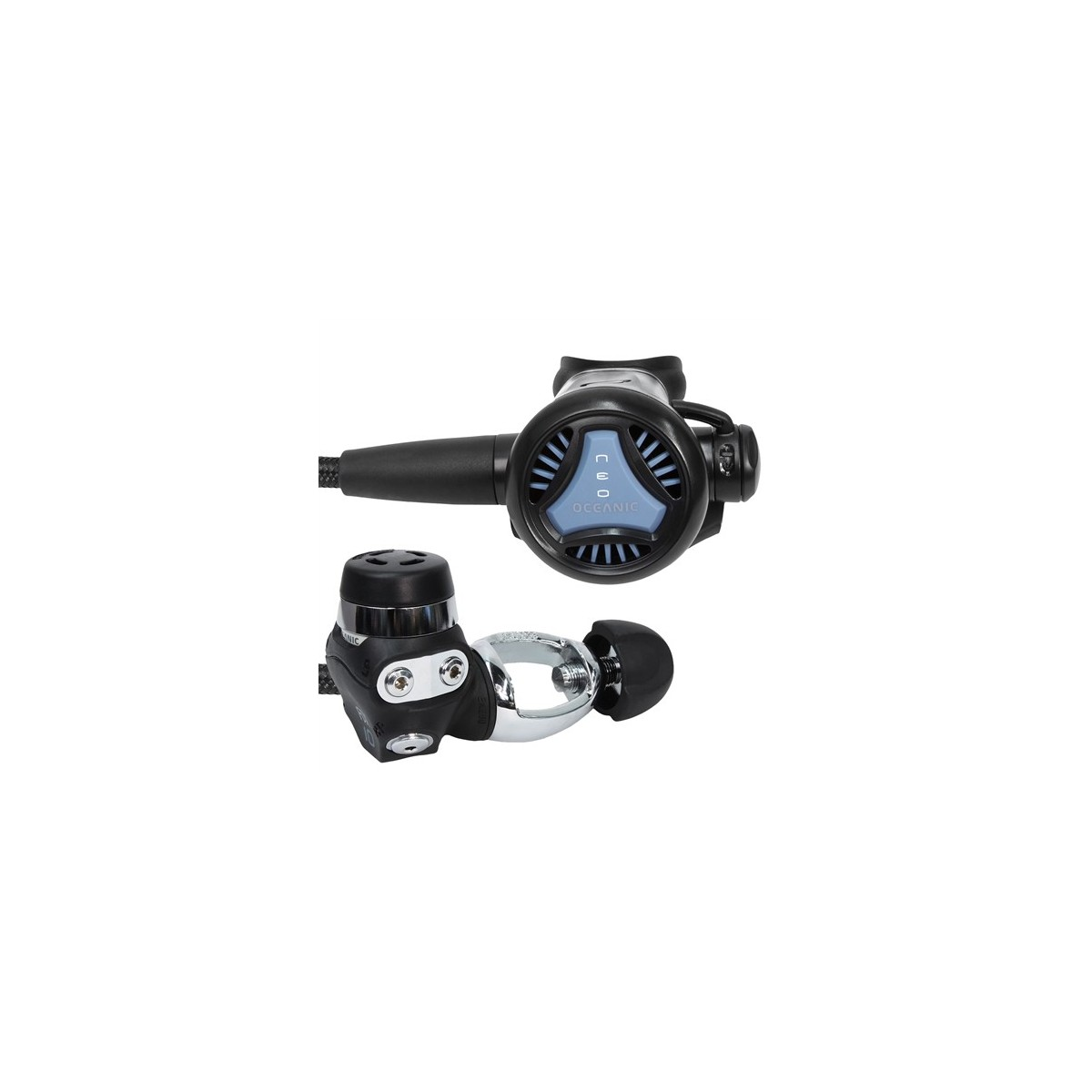 Oceanic Neo 2nd with FDX10 1st Stage Yoke Scuba Diving Regulator