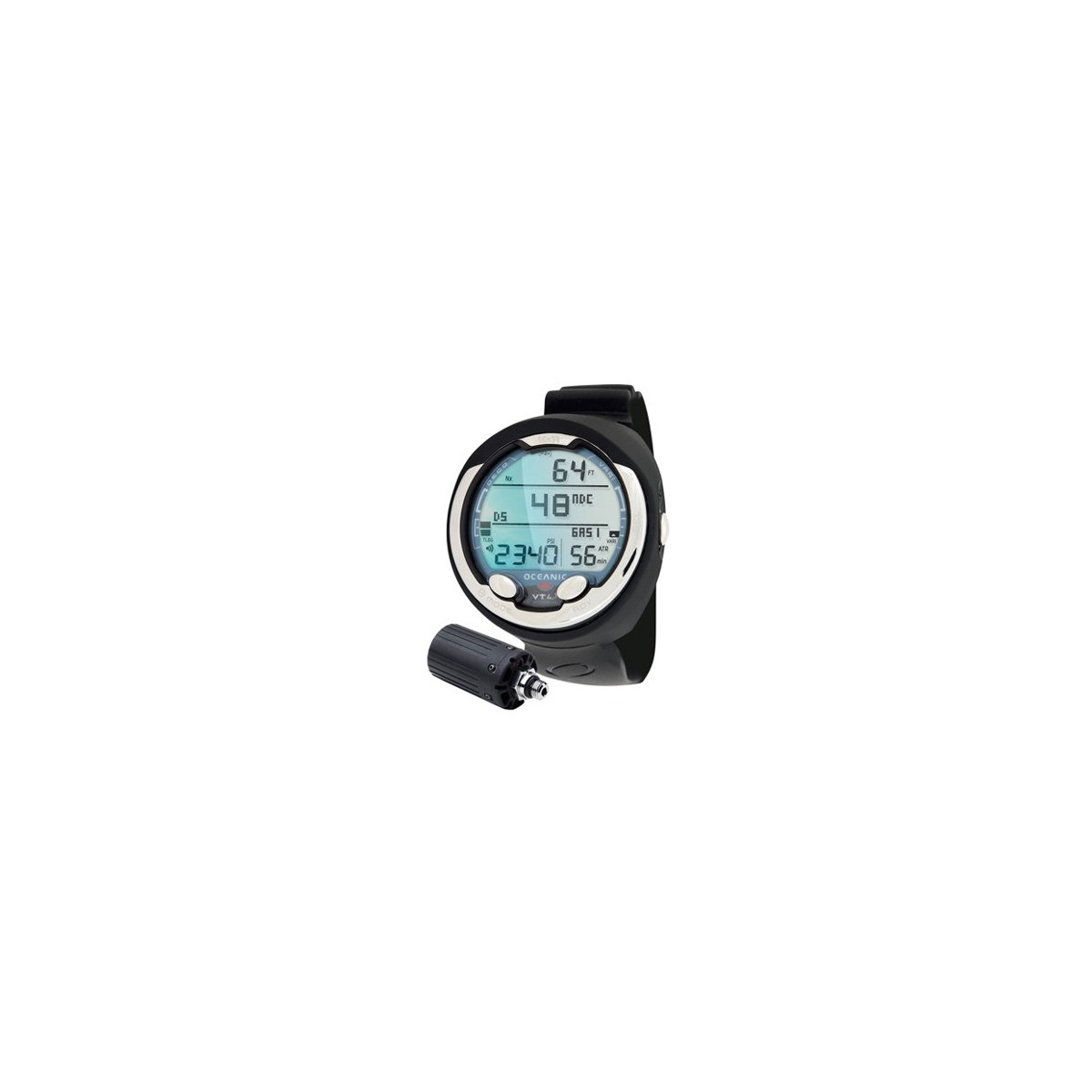 Oceanic VT 4.1 Dual Algorithm Scuba Diving Personal Dive Computer With Transmitter And Download Cable