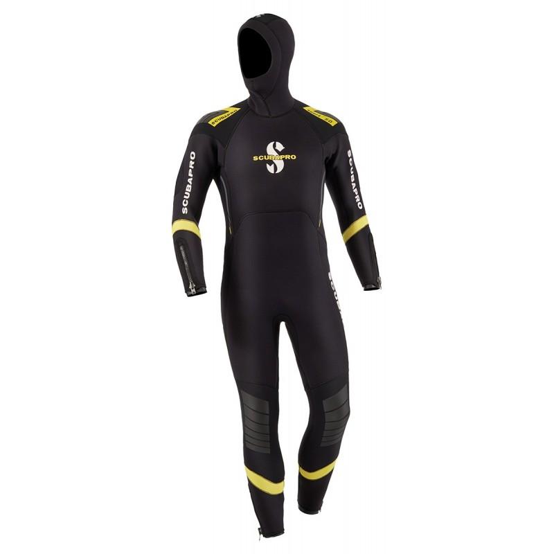 Scubapro Men's Sport Hooded Semi-Dry 7mm Wetsuit
