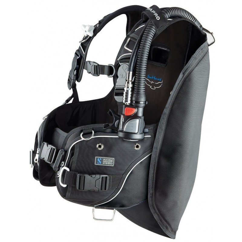Scubapro SEAHAWK Back Inflation BCD - Air 2