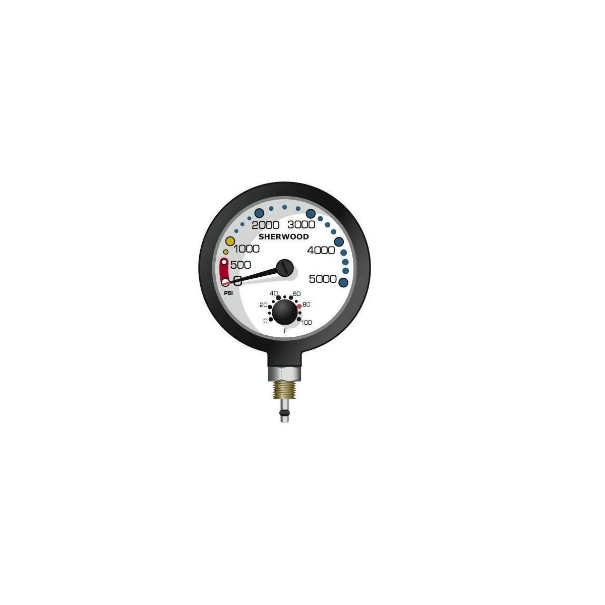 Sherwood Pressure Gauge PG060