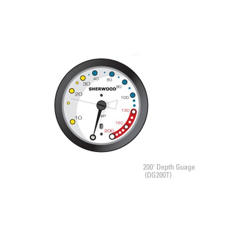 Sherwood 200 Depth Gauge DG200T