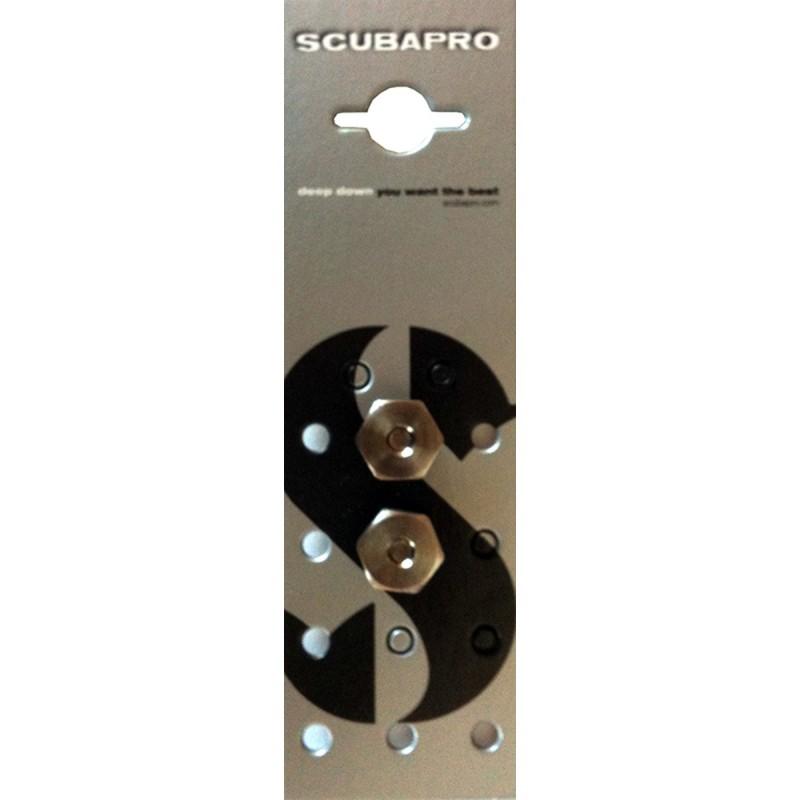 SCUBAPRO X-TEK SCREW ST M6/09MM 2 ST