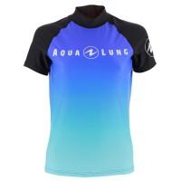 Aqua Lung Women's Short Sleeve Athletic Fit Rashguard