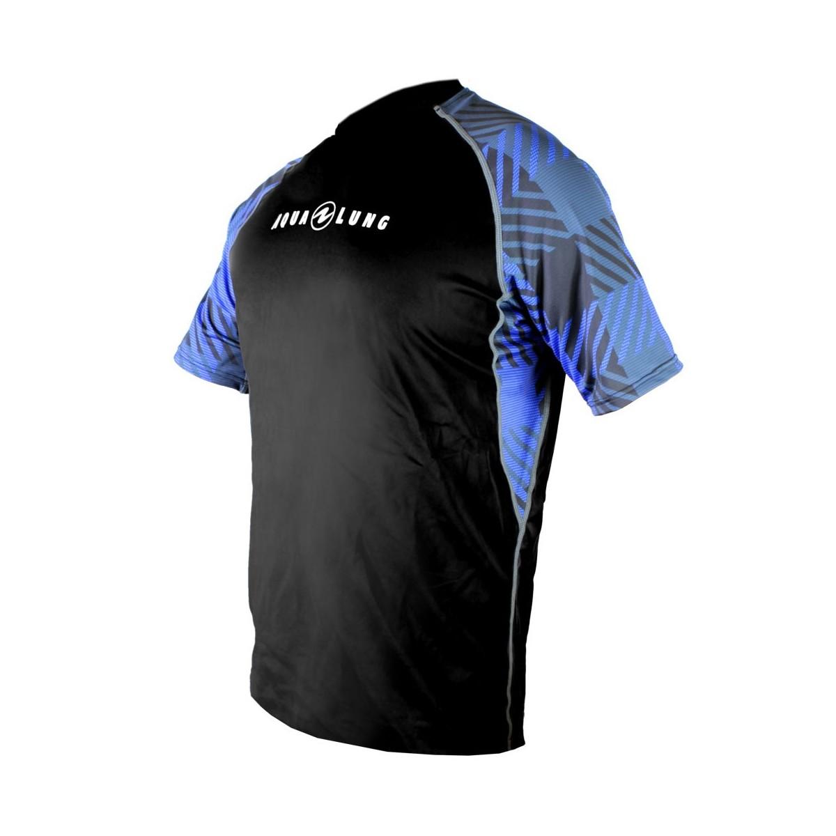 Aqua Lung Men's Short Sleeve Loose Fit Rashguard