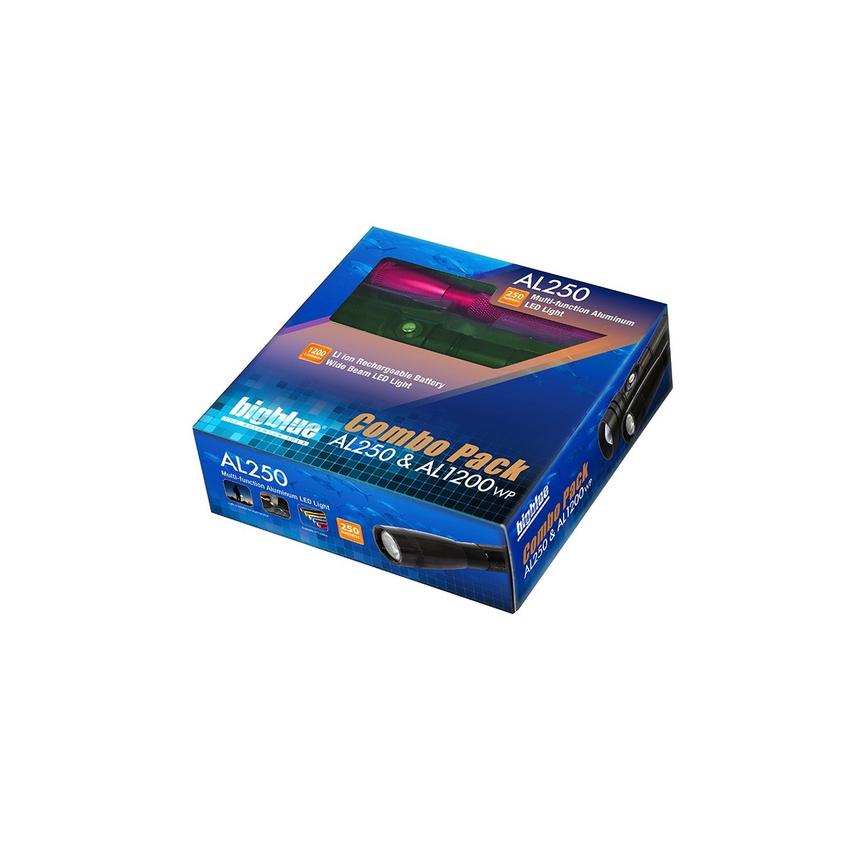 Bigblue Combo Pack AL250 & AL1200WP