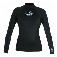 Aqua Lung Lycra Skin Wetsuit Rash Guard, Women's